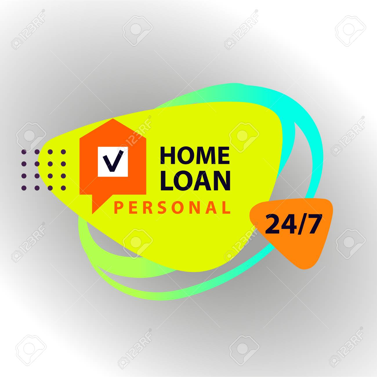 Home loan template financial sign logo badge with plan house home loan template financial sign logo badge with plan house exclusive personal maxwellsz