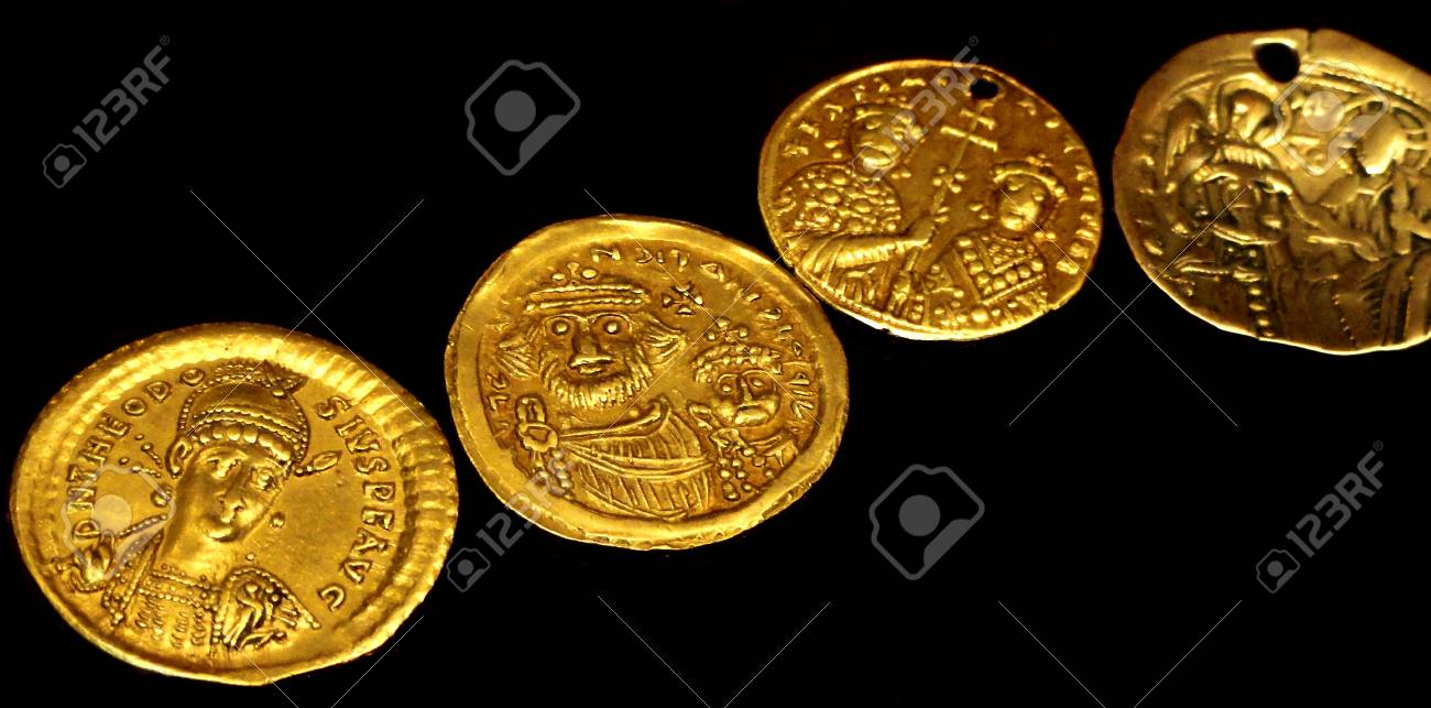 Ancient Roman gold coins