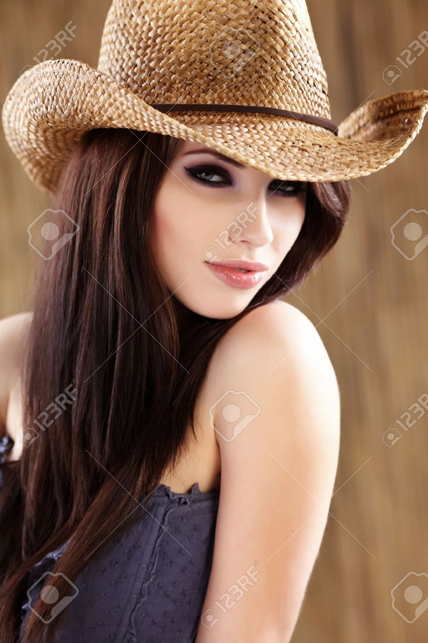 Beautiful Cowgirl Stock Photo - 7017105