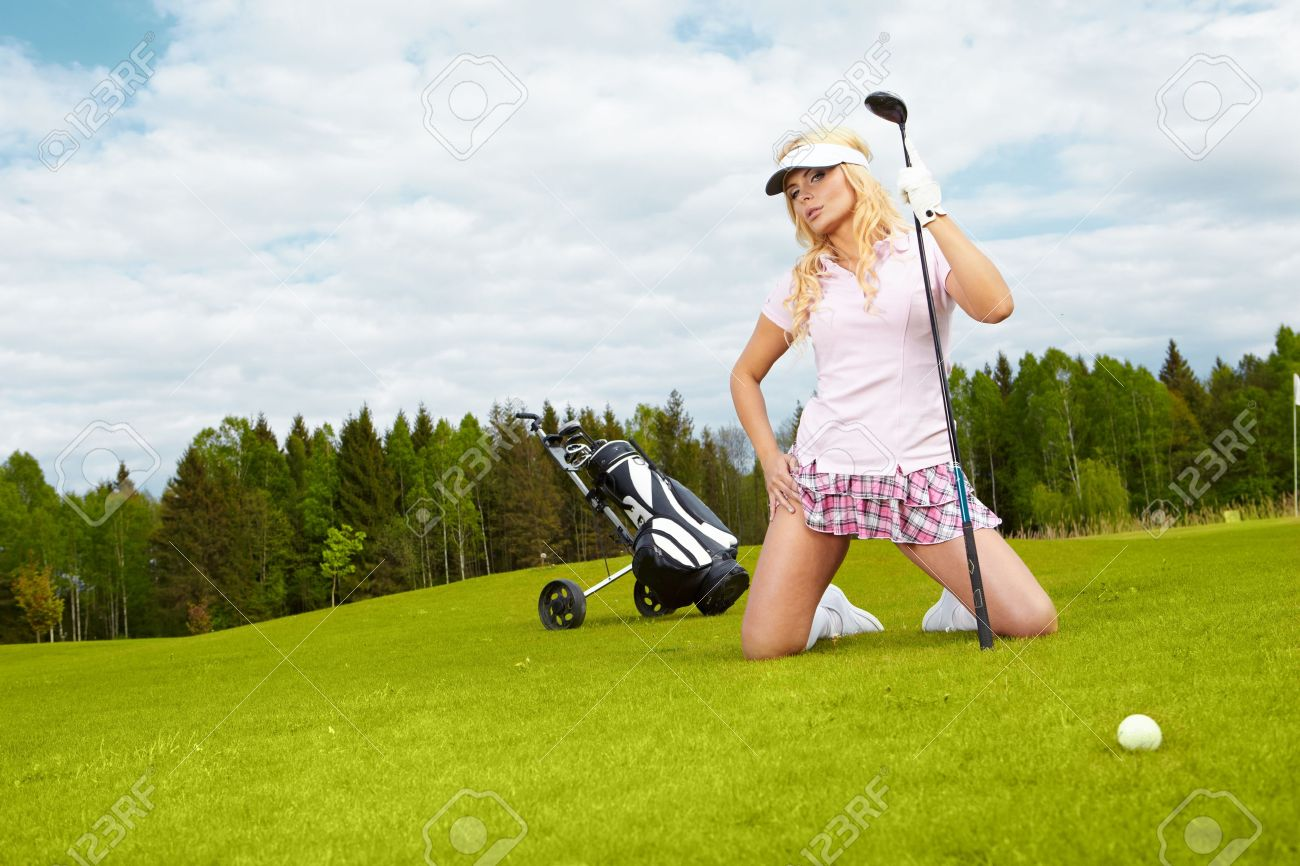 Womans Golf Stock Photo - 10074258