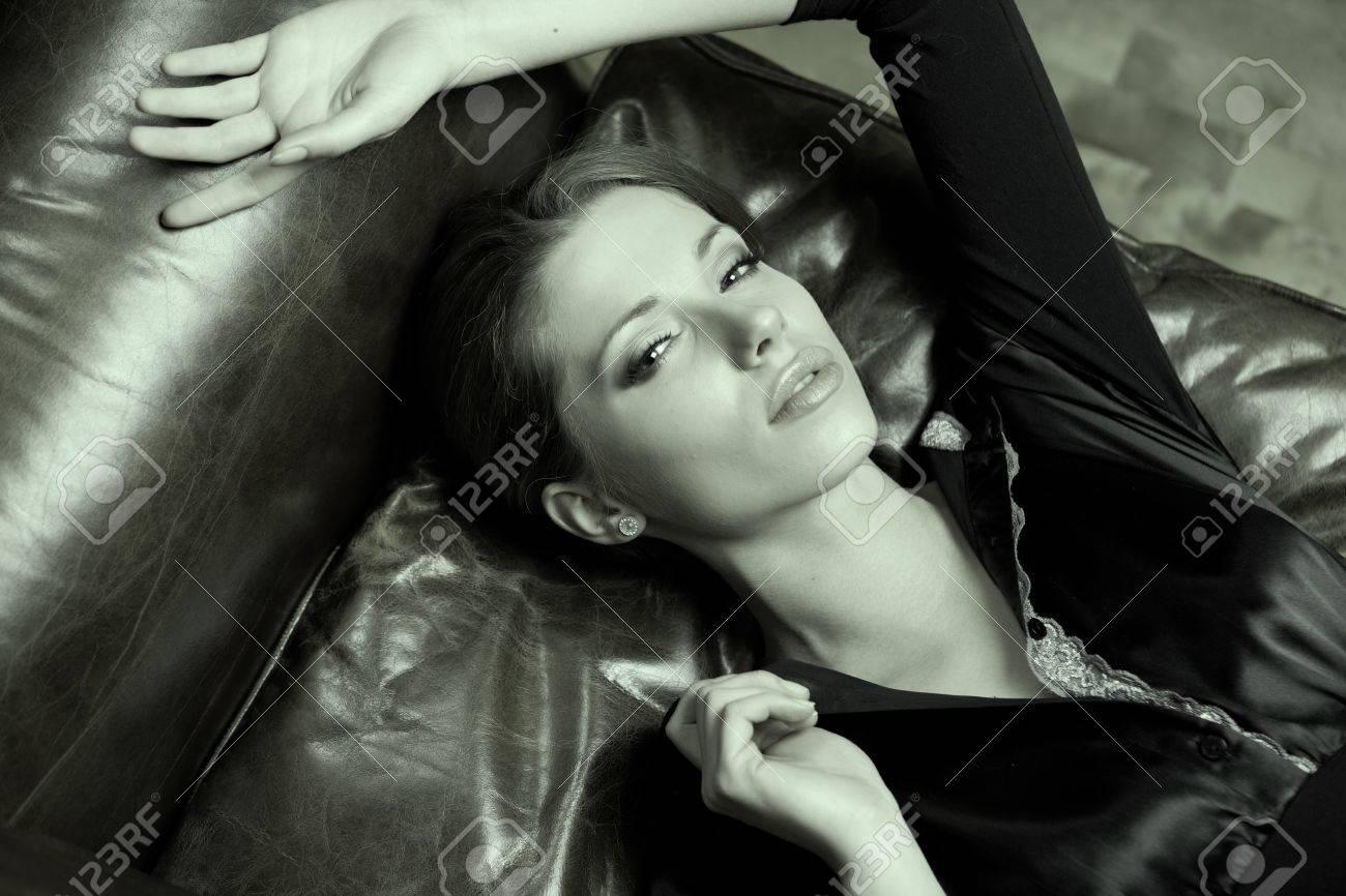 Art Portrait. Beautiful Woman.Luxury style Stock Photo - 11623102