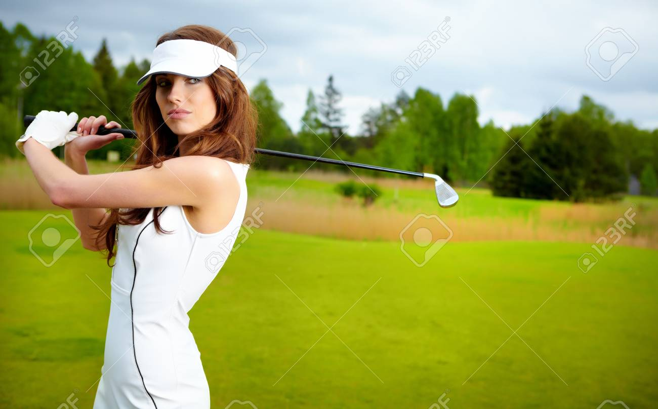 Womans Golf Stock Photo - 12417524