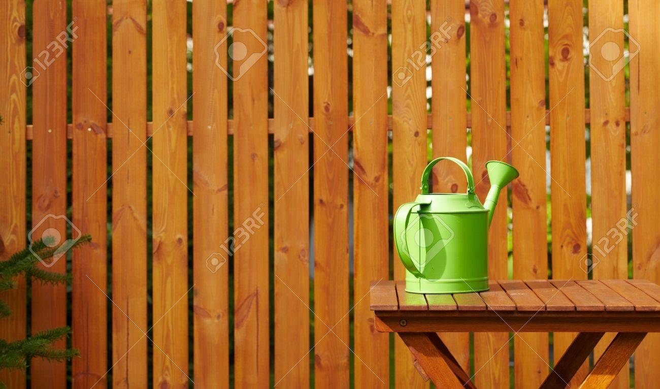 Garden tools on the wooden background Stock Photo - 15423862