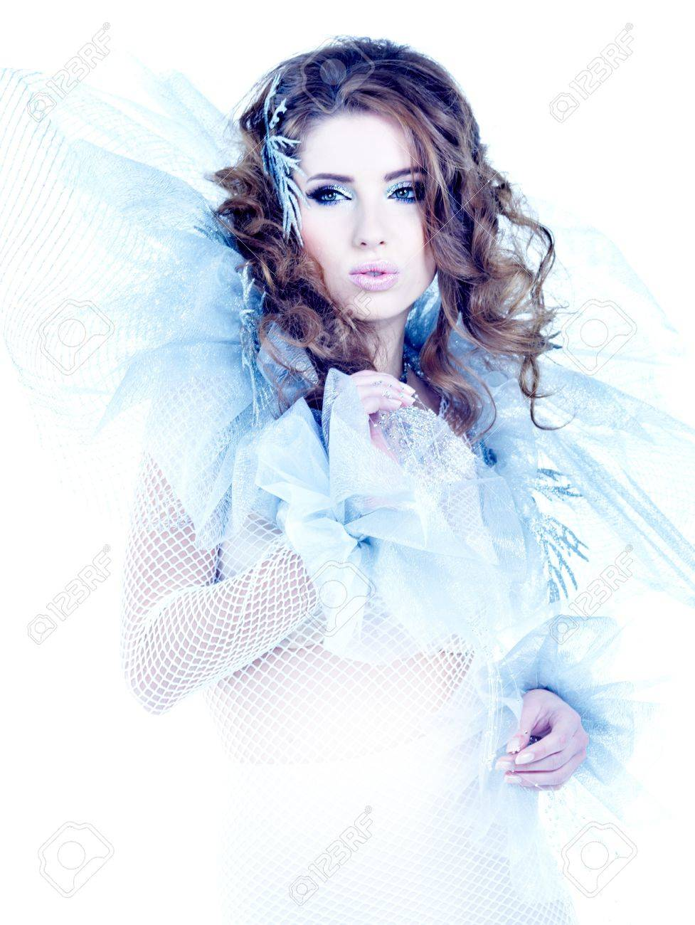 Fantasy winter queen Stock Photo - 16490754