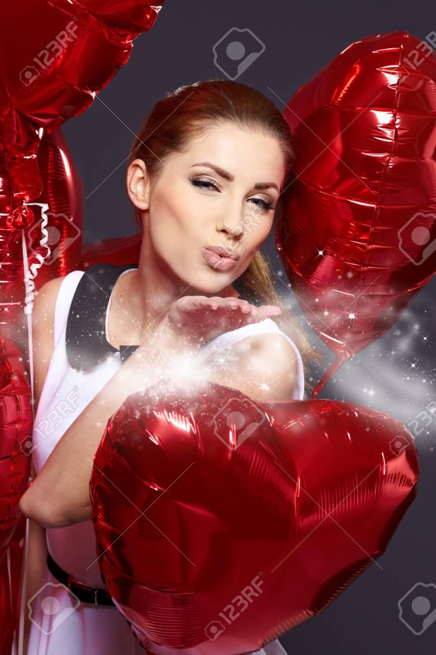 The Valentines day celebrities Stock Photo - 17255318