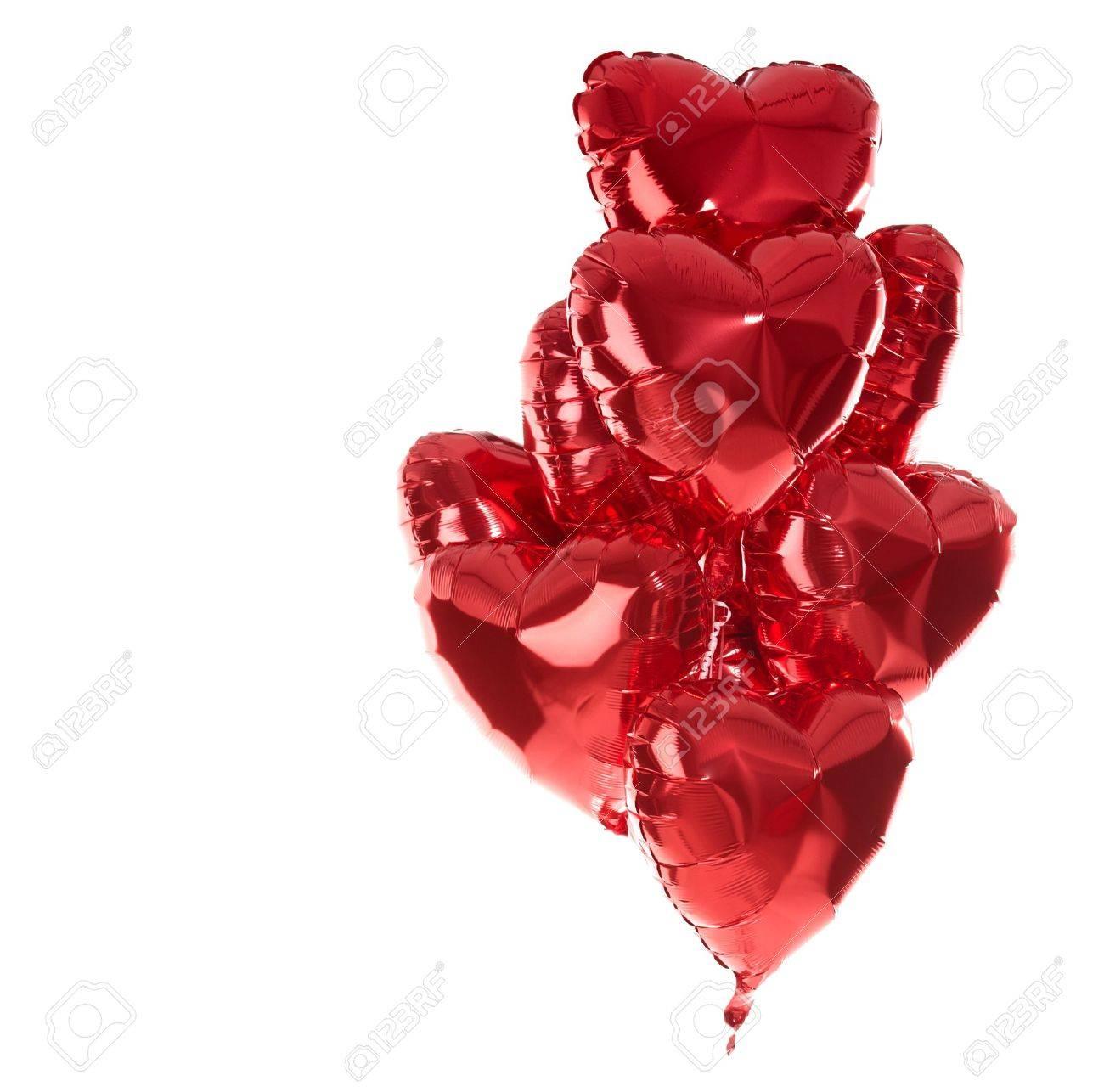 Ballons De Joyeux Anniversaire Amour Coeur Parti Décoration Rouge Saint Valentin