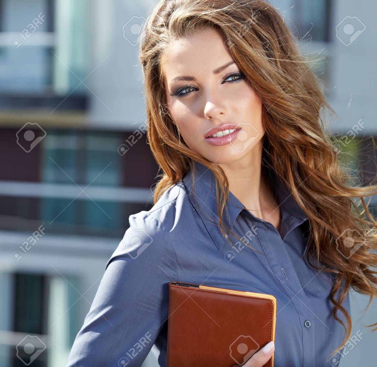 Attractive Real Estate Agent Woman Stock Photo - 17848347