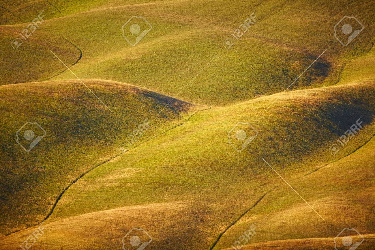 Scenic view of typical Tuscany landscape, Italy Stock Photo - 18264879