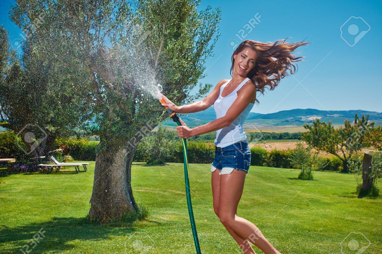 garden hose stock photos u0026 pictures royalty free garden hose