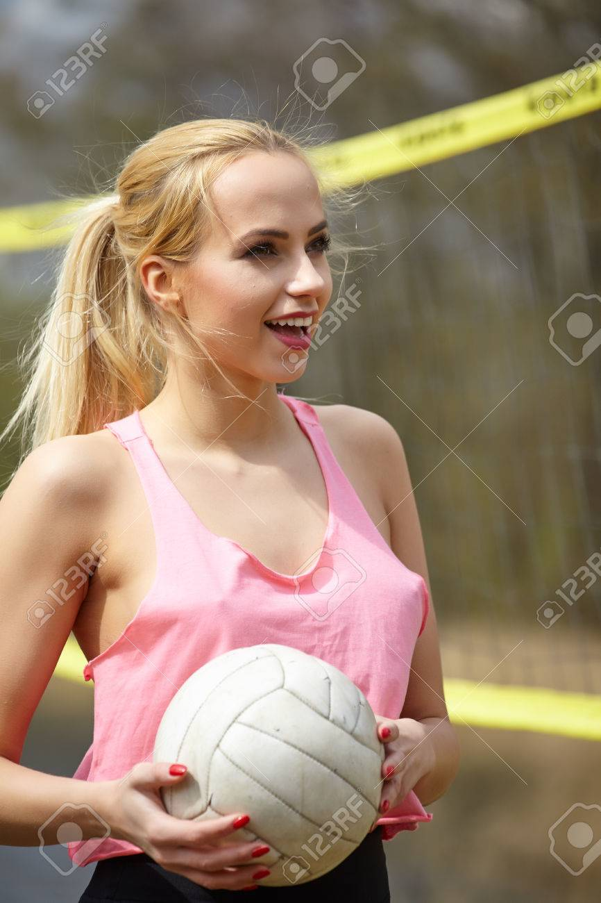 Volleyball girl sexy
