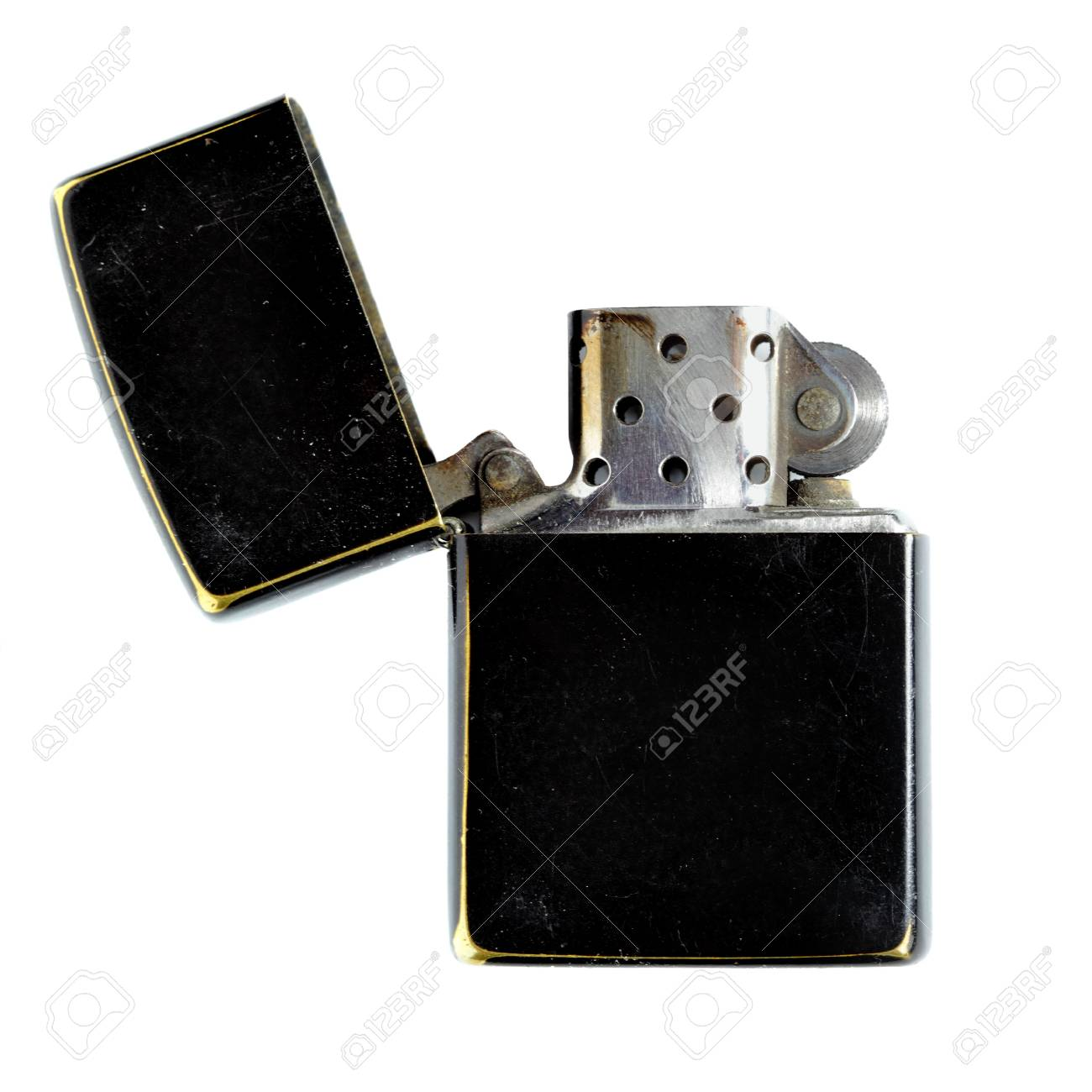 Black lighter isolated over the white background Stock Photo - 5450861