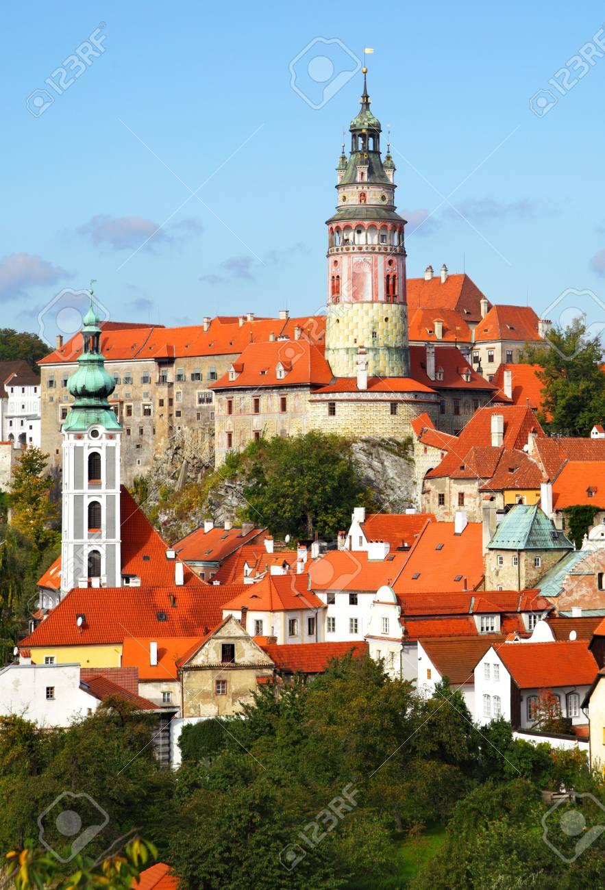 Summer view of Cesky Krumlov. Czech republic Stock Photo - 5804199