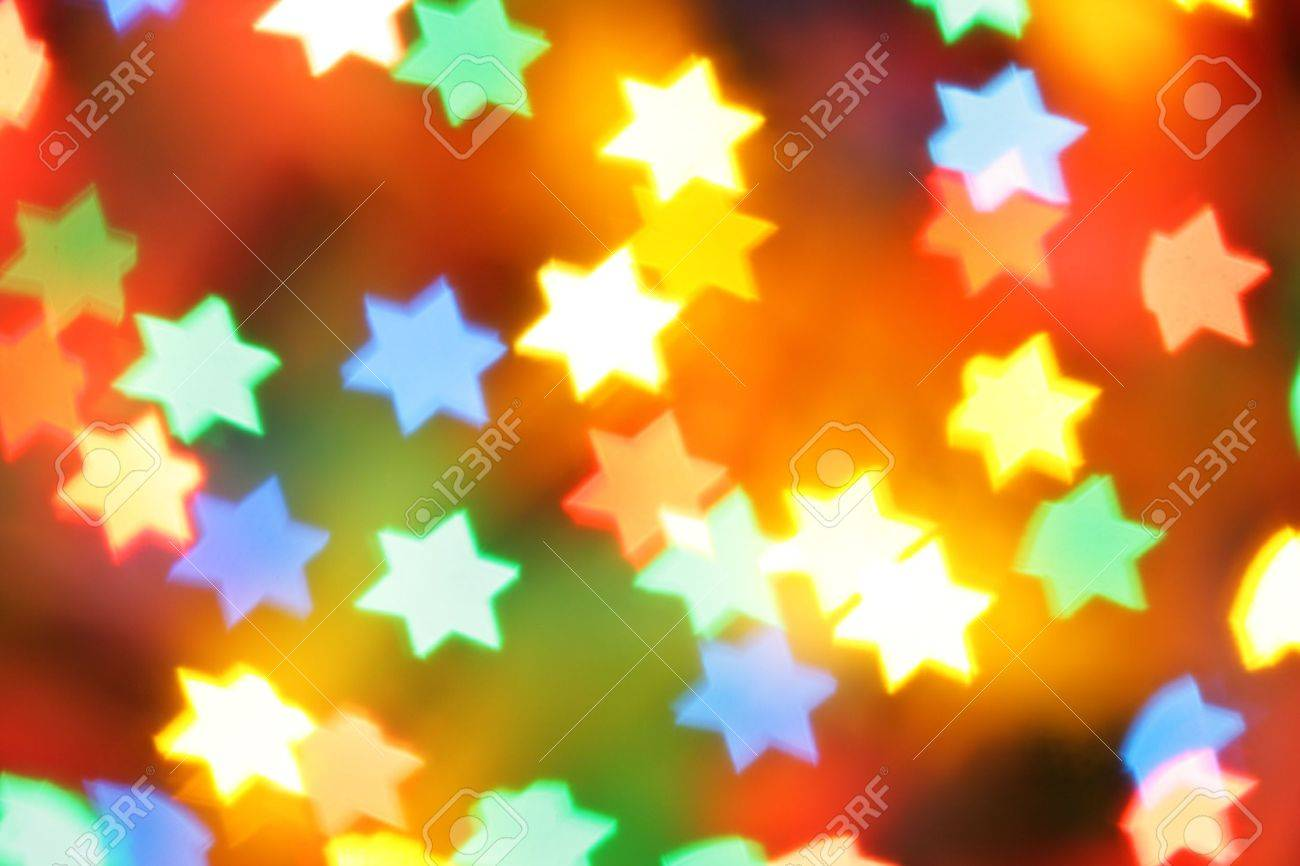 Colorful holiday illumination out of focus, may be used as background Stock Photo - 5949964