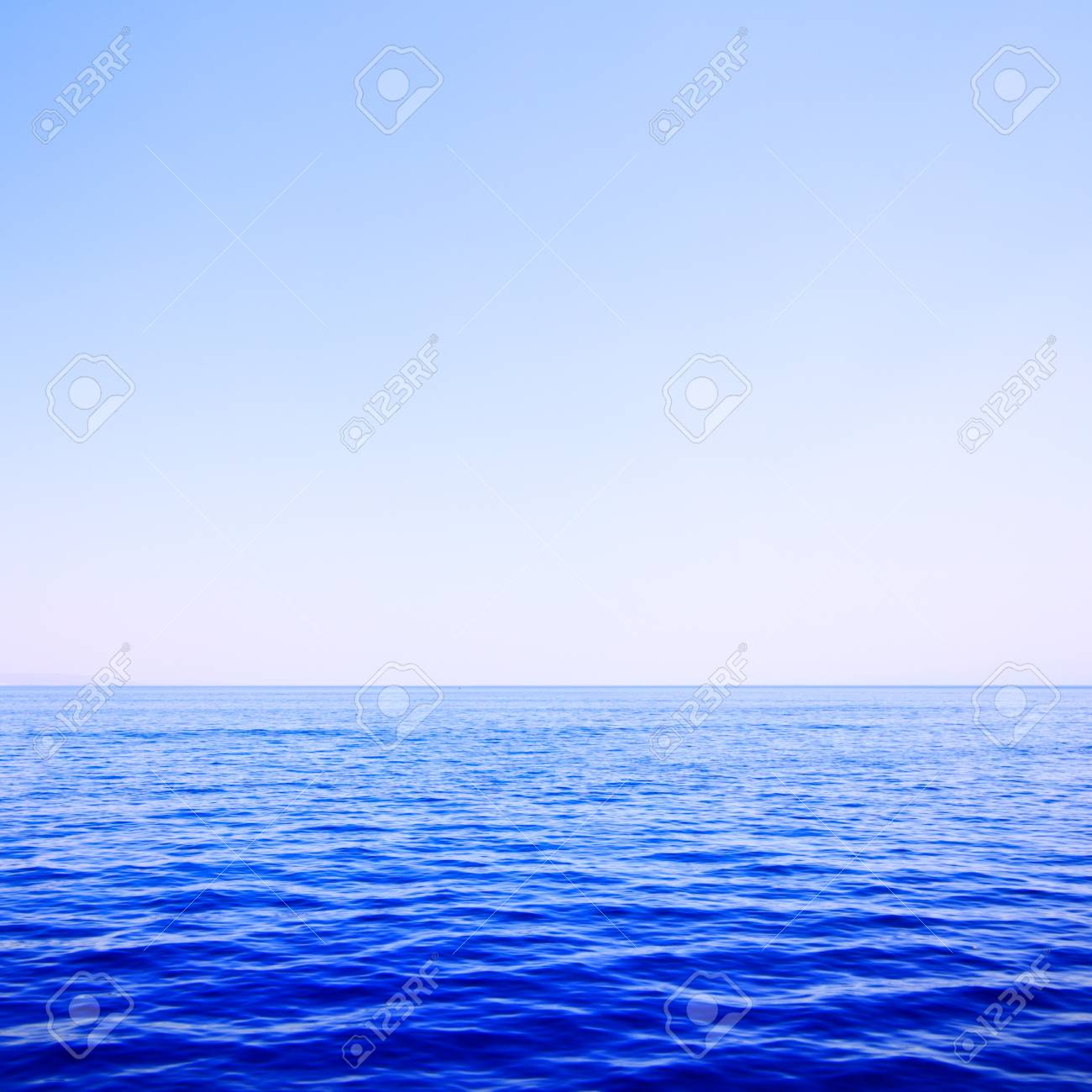 Sea and sky, may be used as background Stock Photo - 7675266