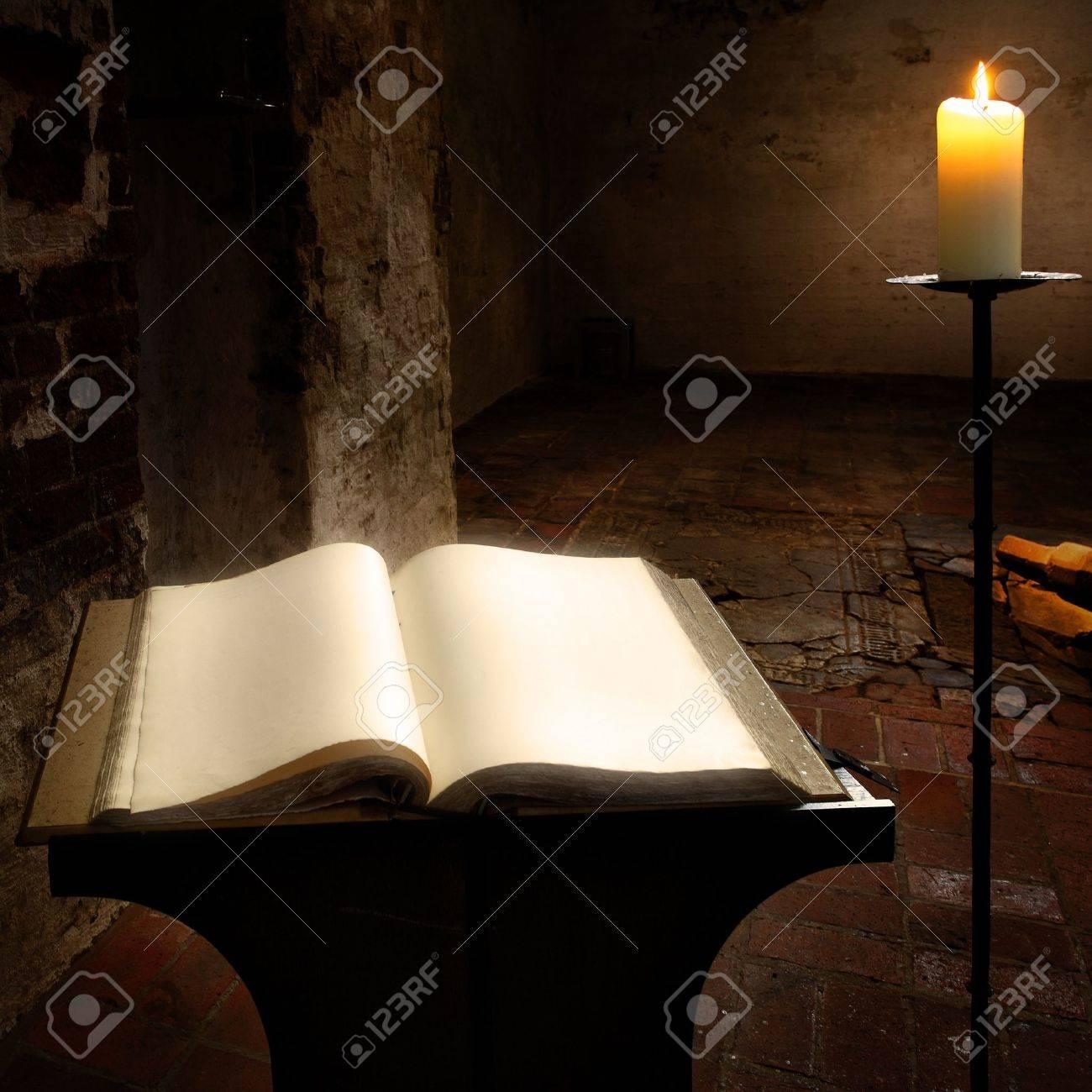 Page Livre Livre Ouvert Avec Des Pages