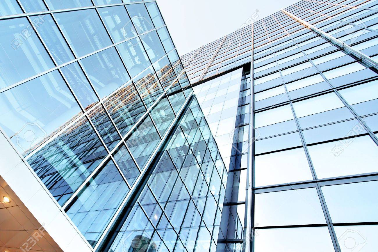 Office building close up - 15386181
