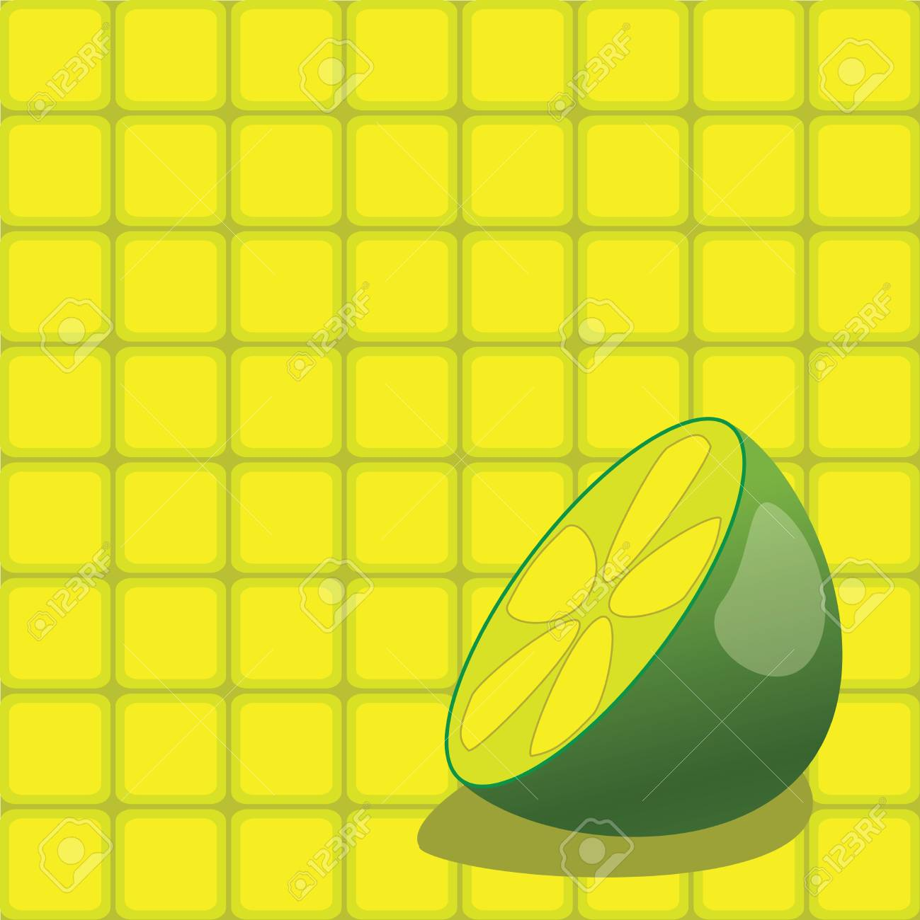 Back ground vector square draw Stock Vector - 4821234