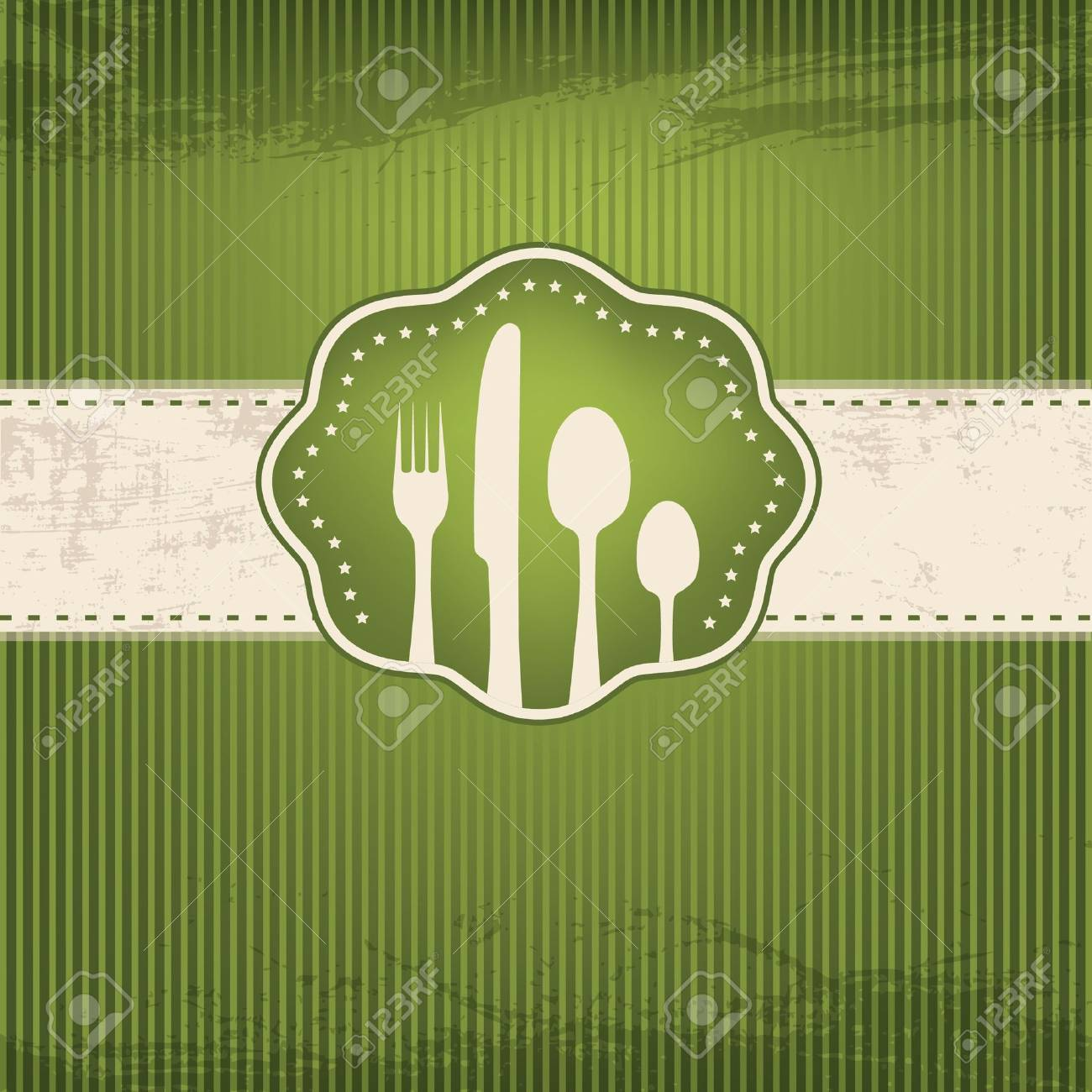 Restaurant card Stock Vector - 11954824