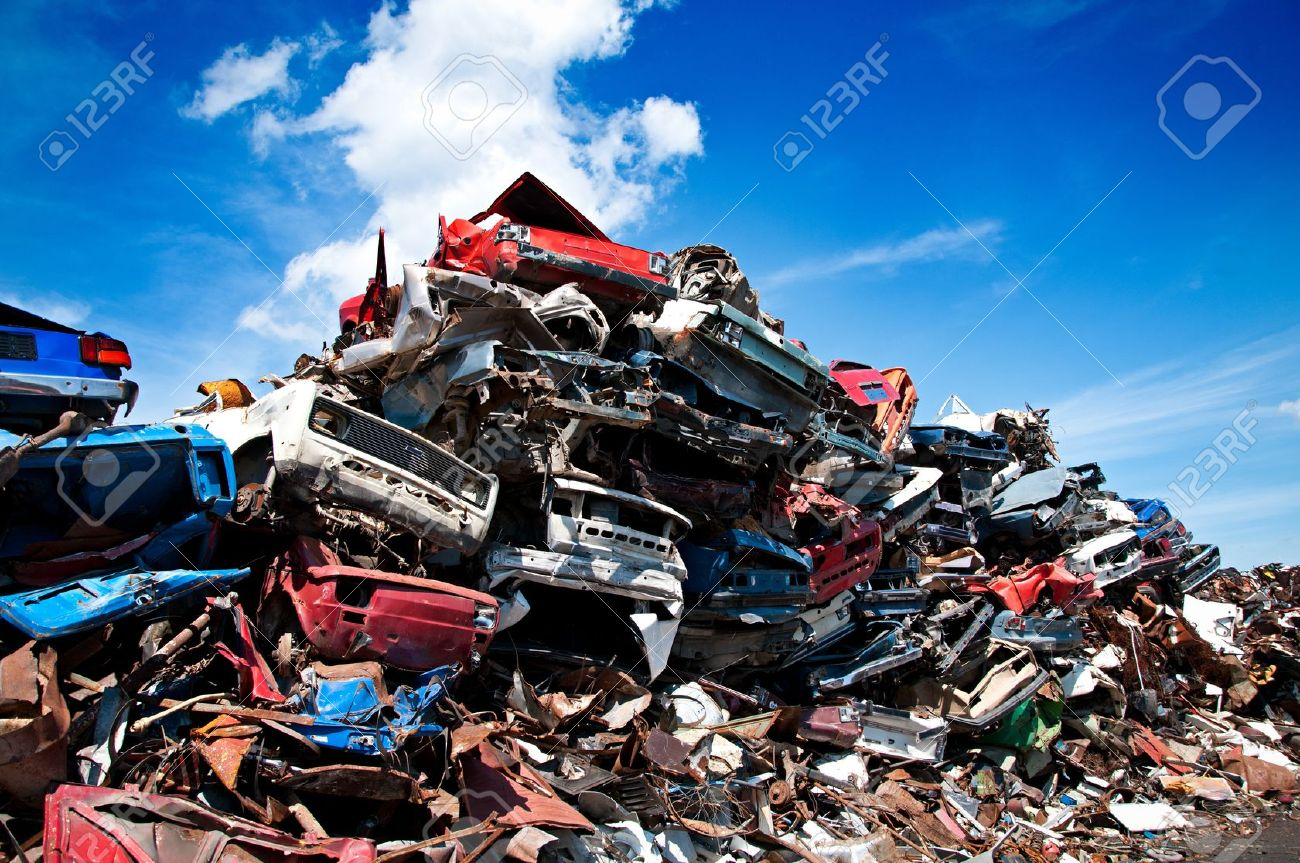 Car scrap Stock Photo - 13476038