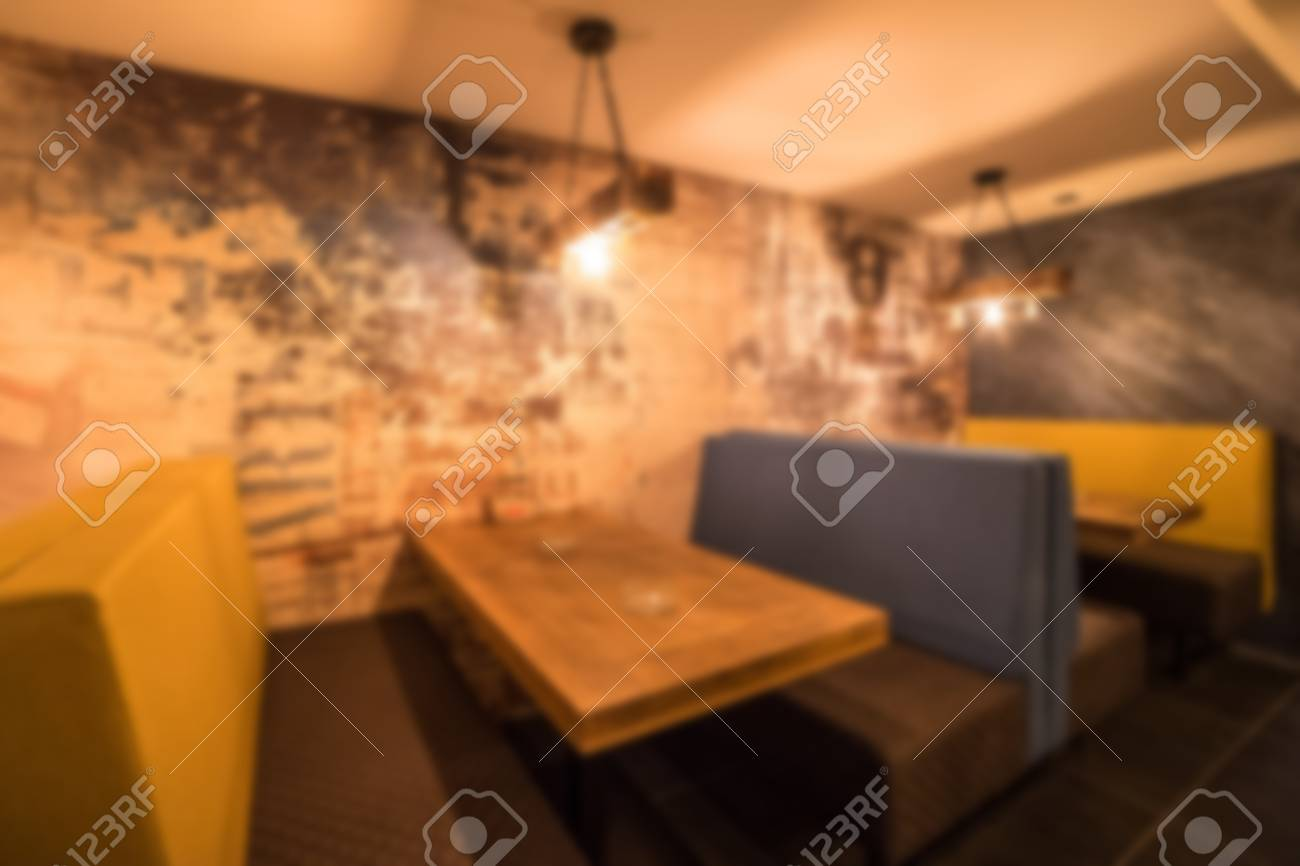 Blurred Modern Coffee Shop For Use As Background Cafe Restaurant Stock Photo Picture And Royalty Free Image Image 115962886