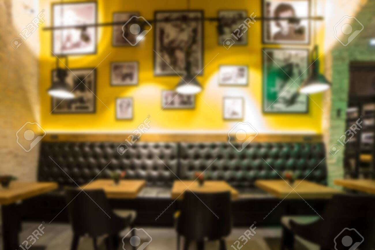 Blurred Modern Coffee Shop For Use As Background Cafe Restaurant Stock Photo Picture And Royalty Free Image Image 115962860