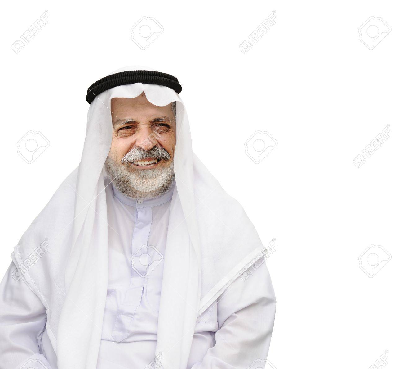 mature old man looking upwards into space ready for text Stock Photo - 22125407
