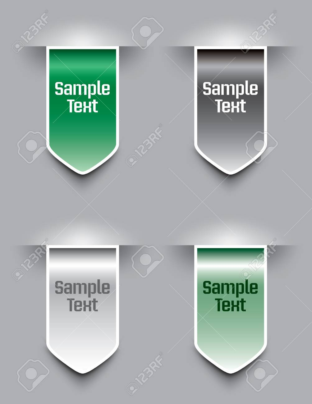 Bookmarks Stock Vector - 14533798