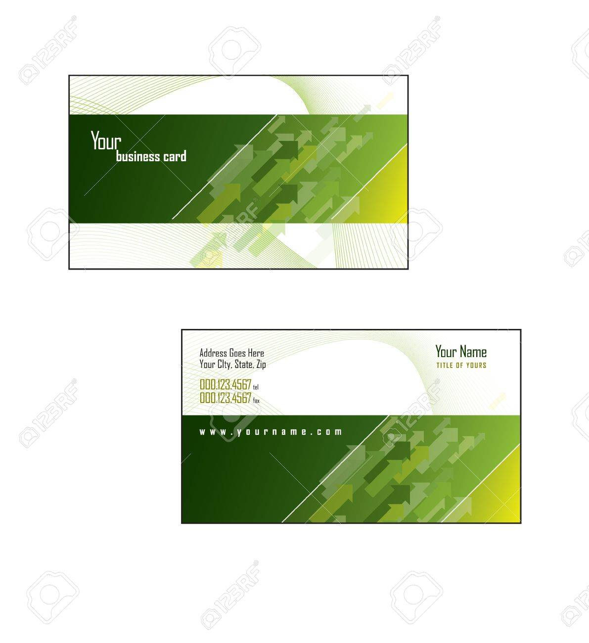 Business Card Template - 14533749