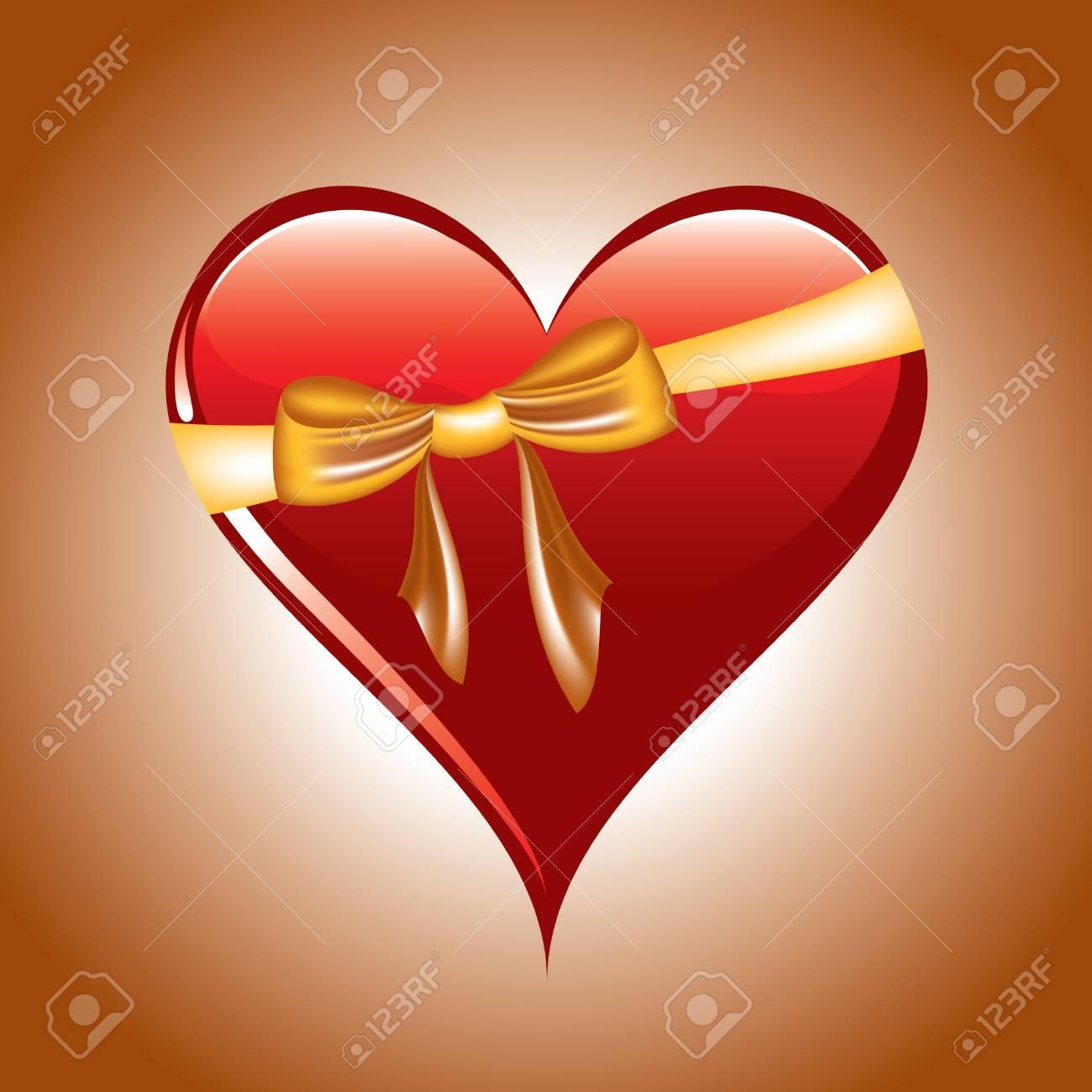 Heart  Illustration Stock Vector - 14602689