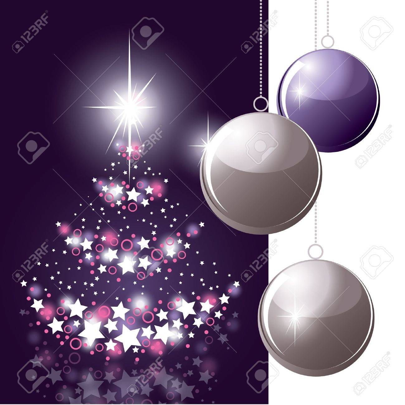 Christmas Background  Abstract Illustration Stock Vector - 15035759