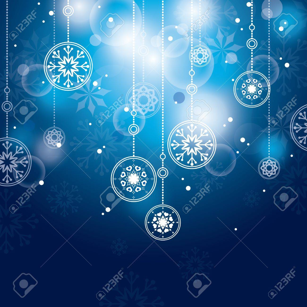 Christmas Background  Abstract Illustration Stock Vector - 15035788