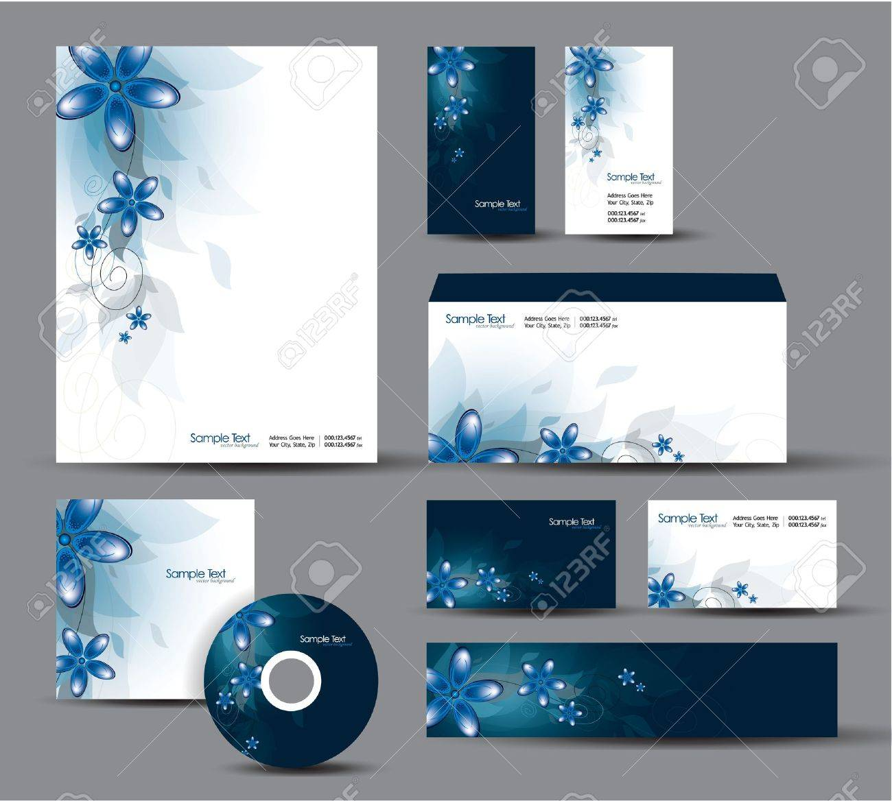 Modern identity package letterhead business gift cards envelope modern identity package letterhead business gift cards envelope cd dvd header banner colourmoves