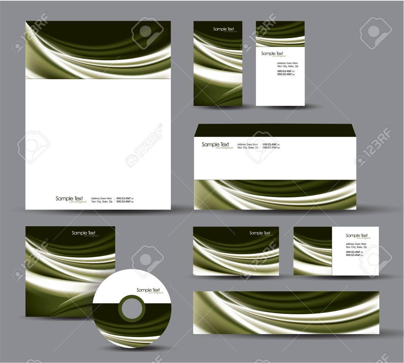 Modern Identity Package Letterhead, Business Gift Cards, Envelope ...