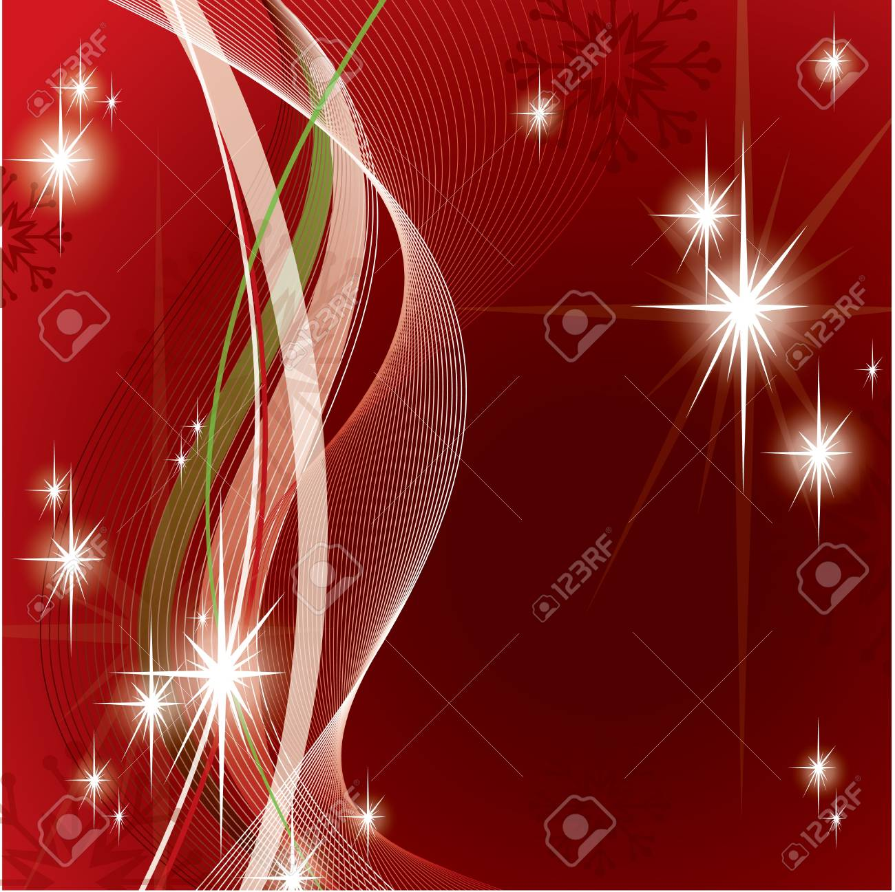 Christmas Background Stock Vector - 21718532