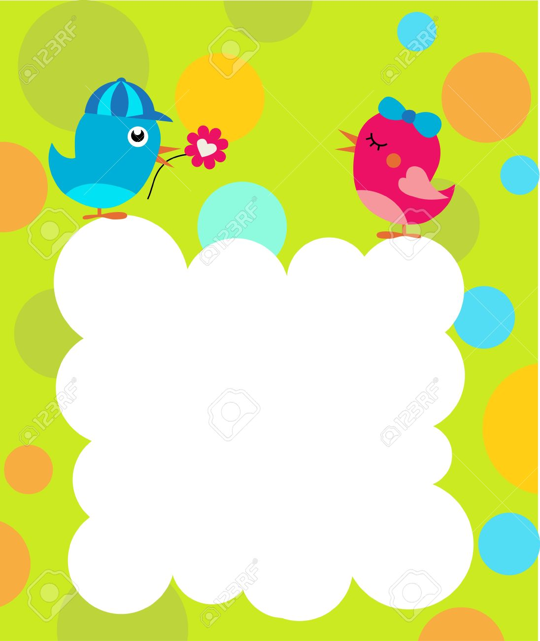 greetings card template