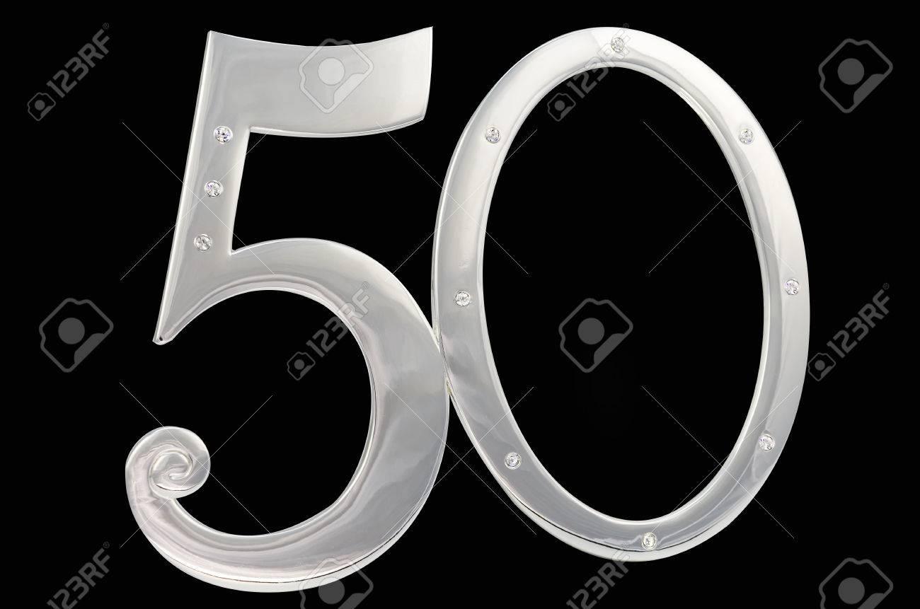 Marco De Fotos De Plata Cumpleaños 50 Aniversario De Aislamiento ...