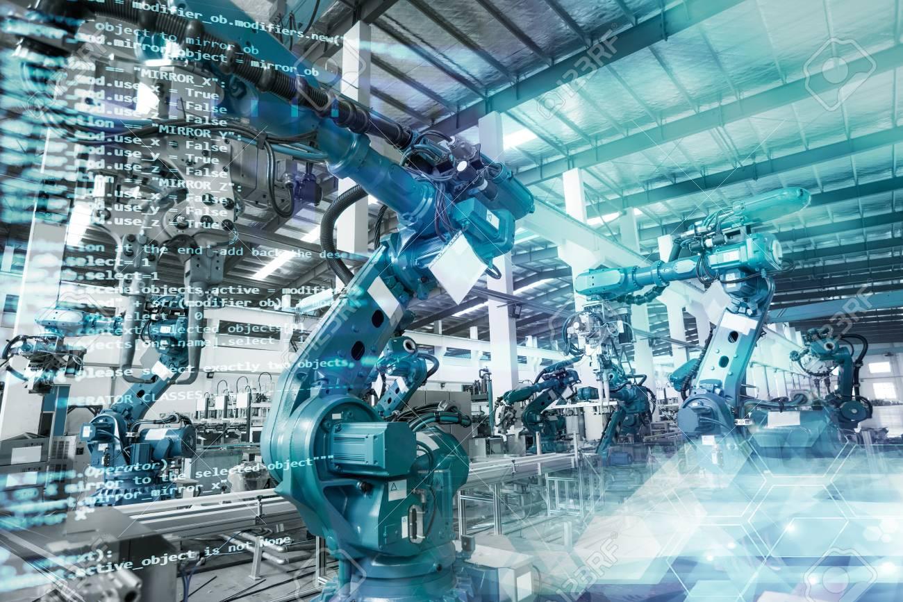 Robot production workshop - 88675501