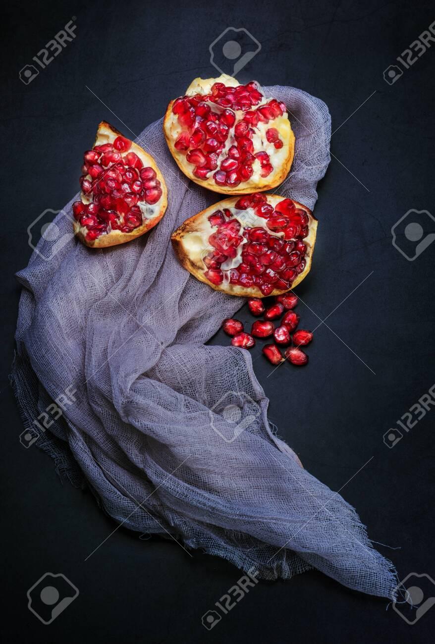 Fresh pomegranate. - 145062789