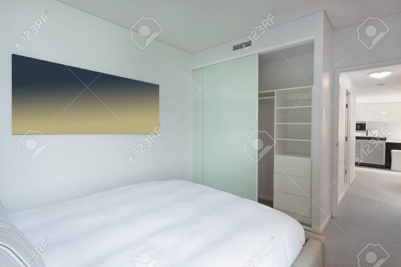 Stylish bedroom in new Australian apartment Stock Photo - 18660687