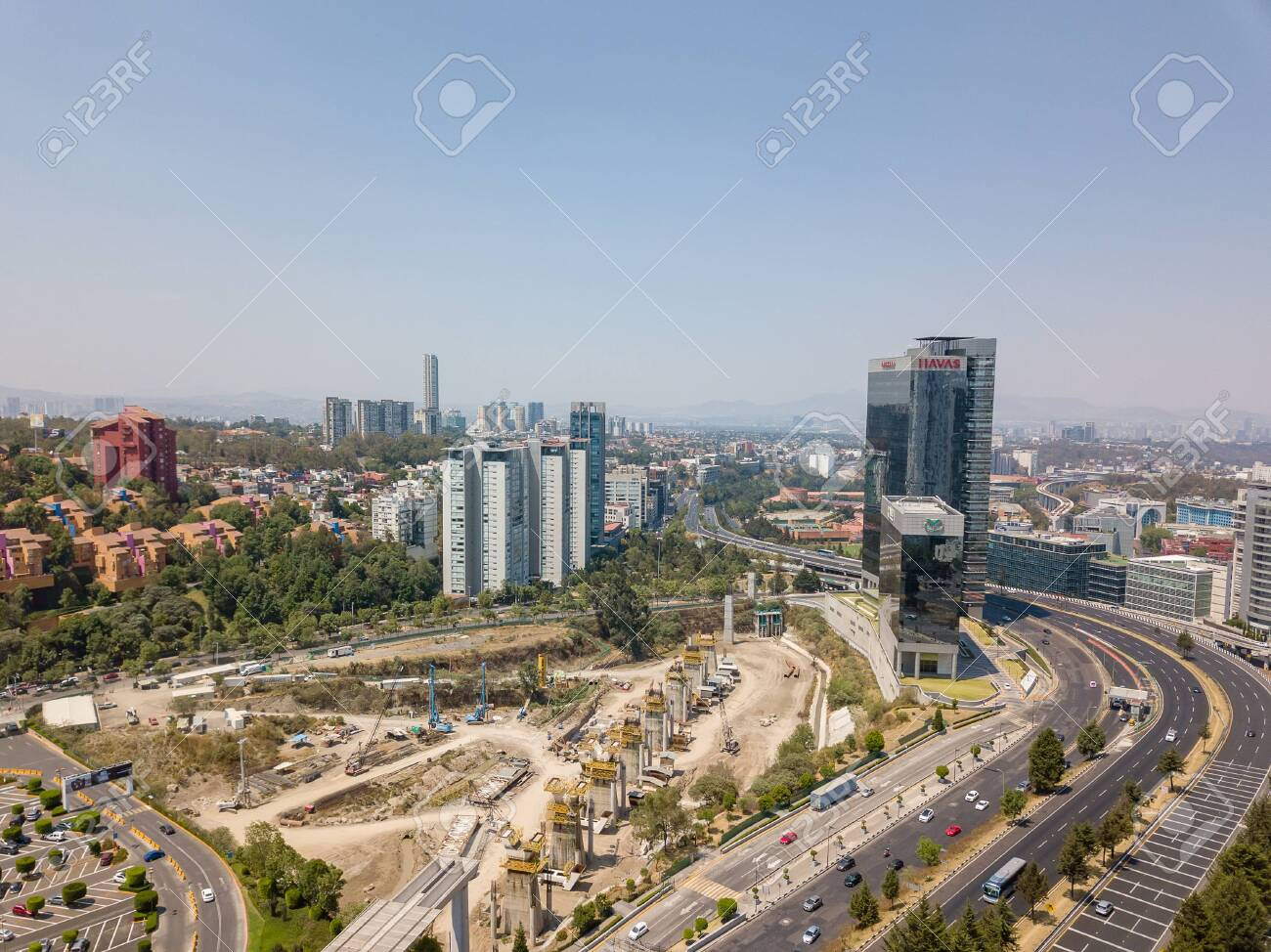 Mexico City Santa Fe Panoramic View Stock Photo Picture And Royalty Free Image Image 137200416