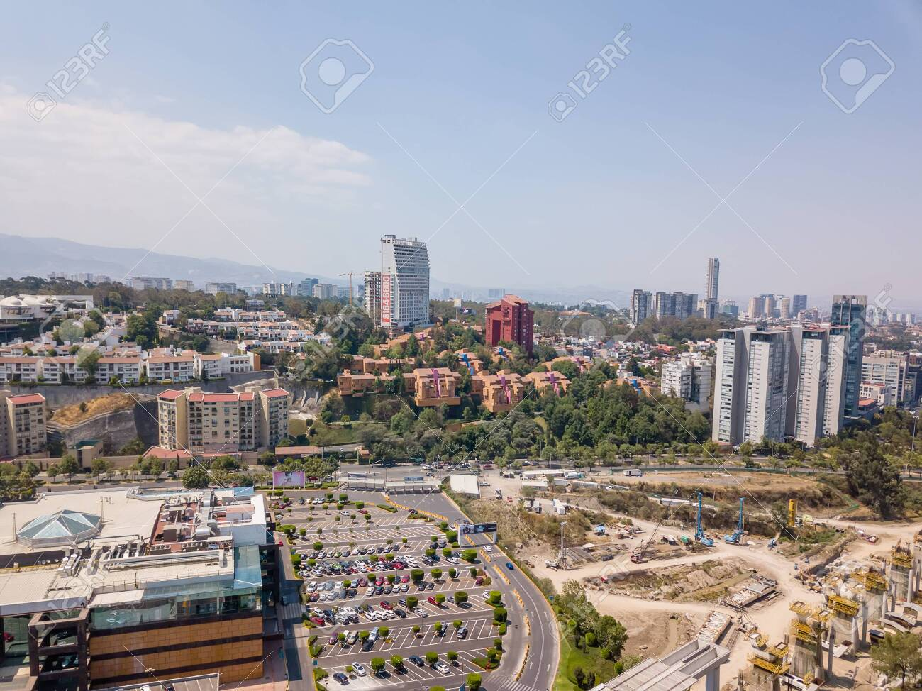 Mexico City Santa Fe Panoramic View Stock Photo Picture And Royalty Free Image Image 137200417