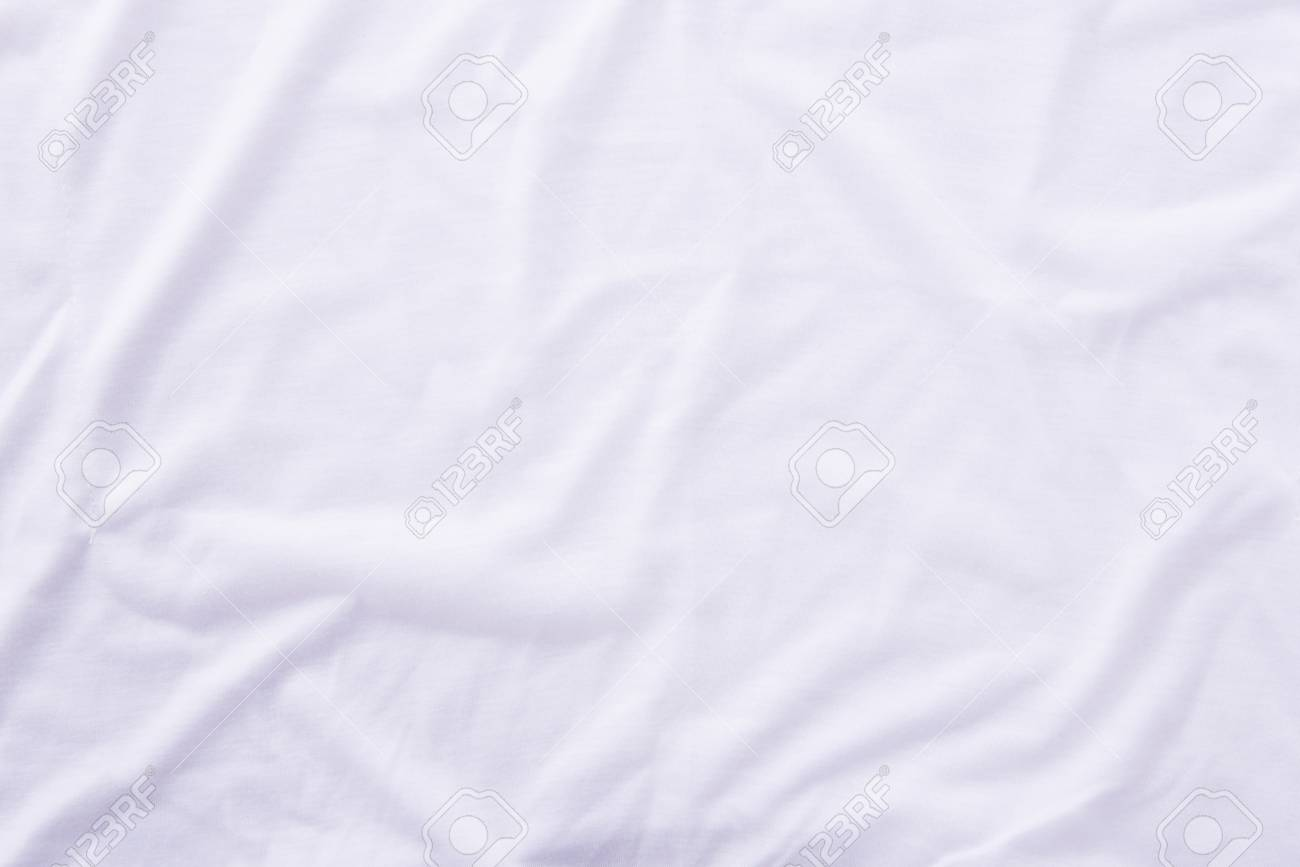 White bed sheet background - Close Up Of Wrinkled White Bedsheet Texture Background Stock Photo 59159097