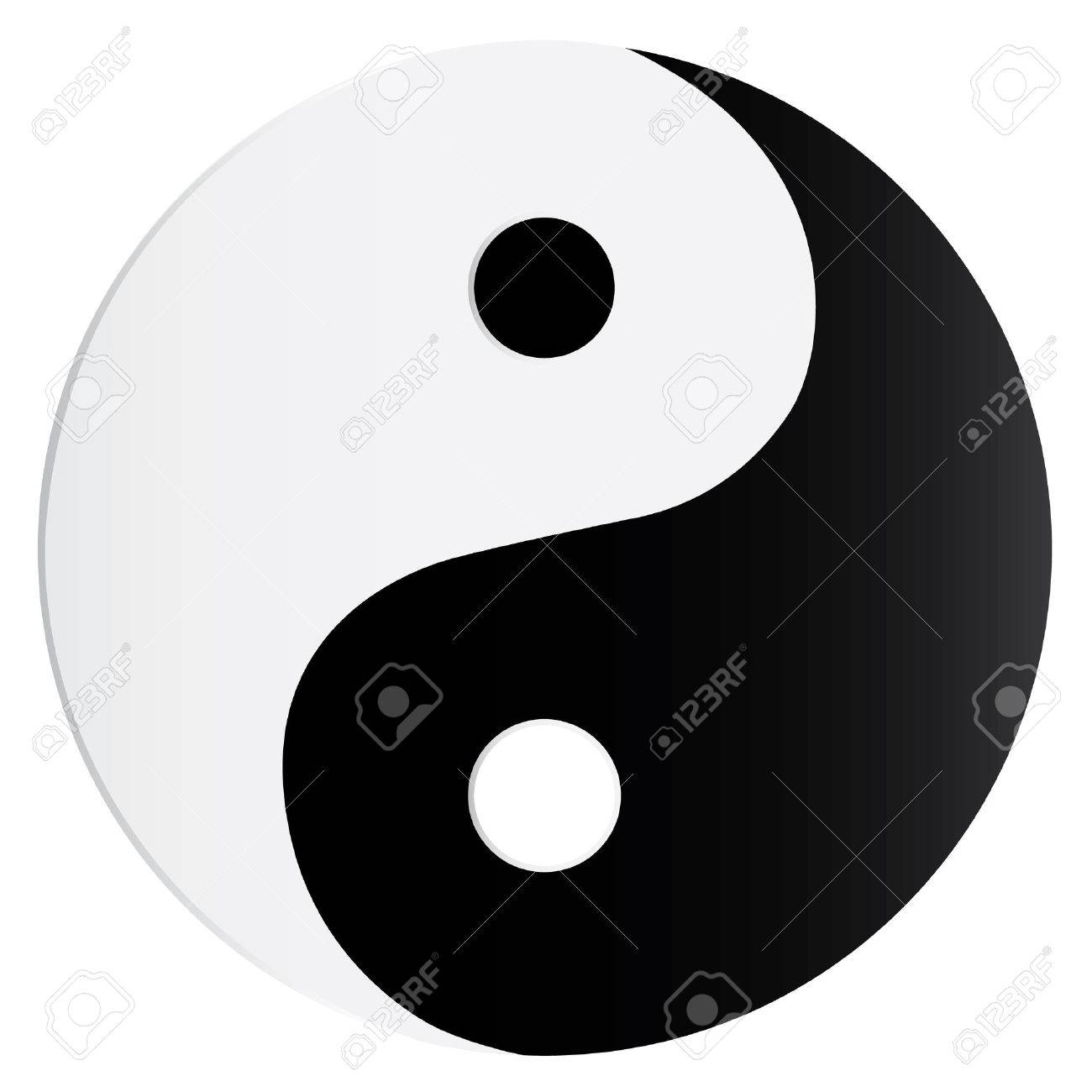 Yin Yang Symbol Stock Vector - 8032288