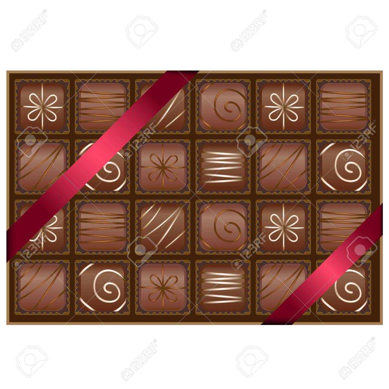 Box Of Chocolates Royalty Free Cliparts, Vectors, And Stock ...