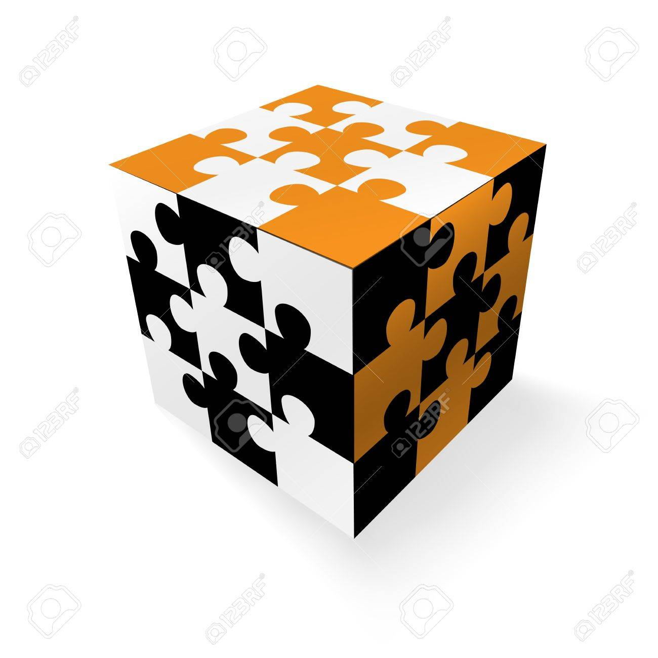 Jigsaw concept design Stock Vector - 13927865
