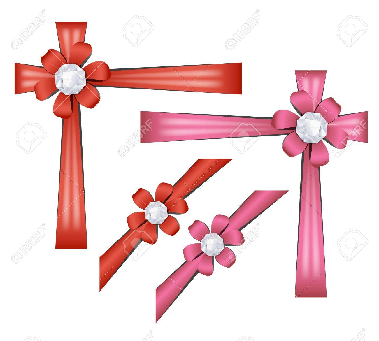 Gift ribbons Stock Vector - 16270760