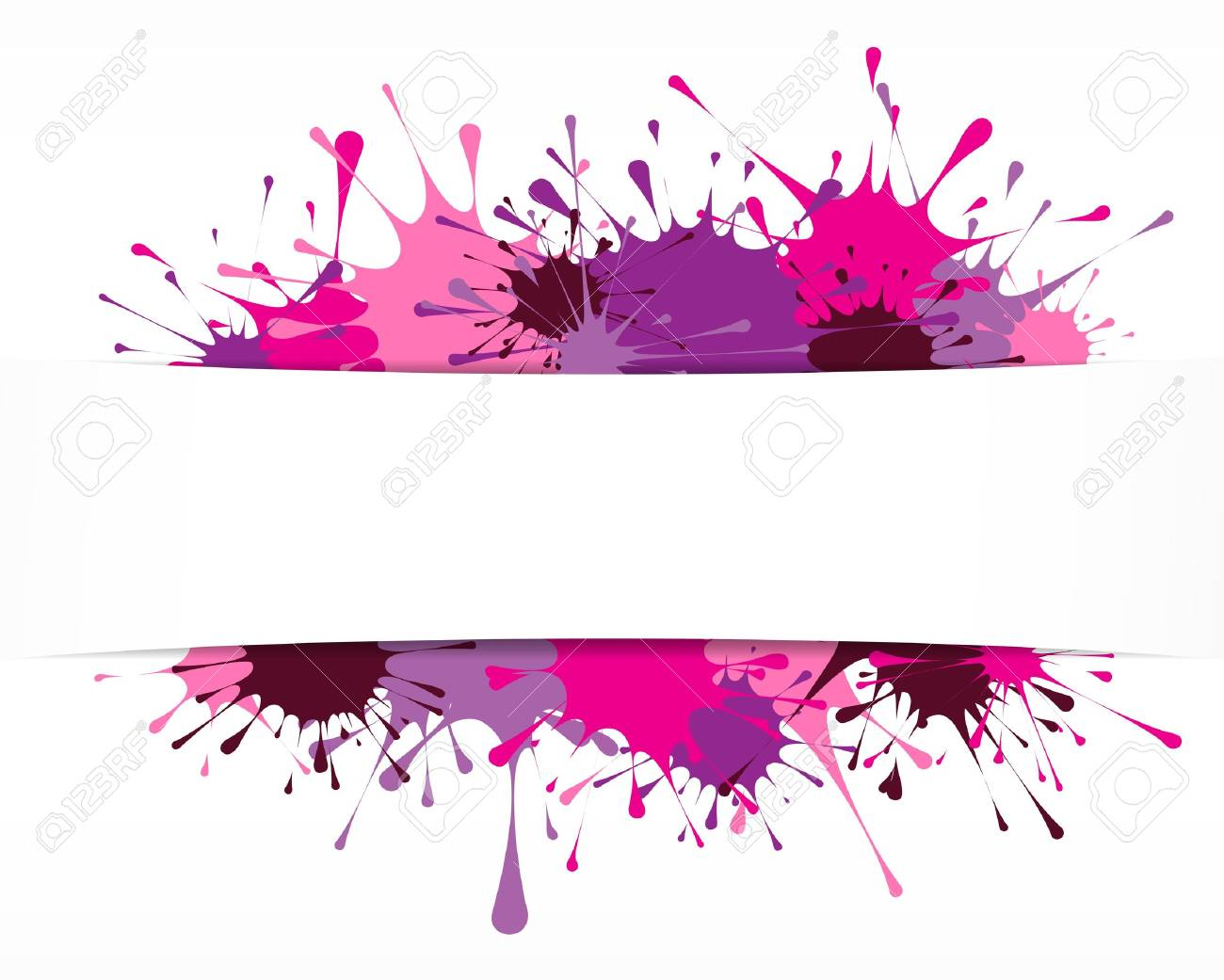 Bright painted background Stock Vector - 16771310