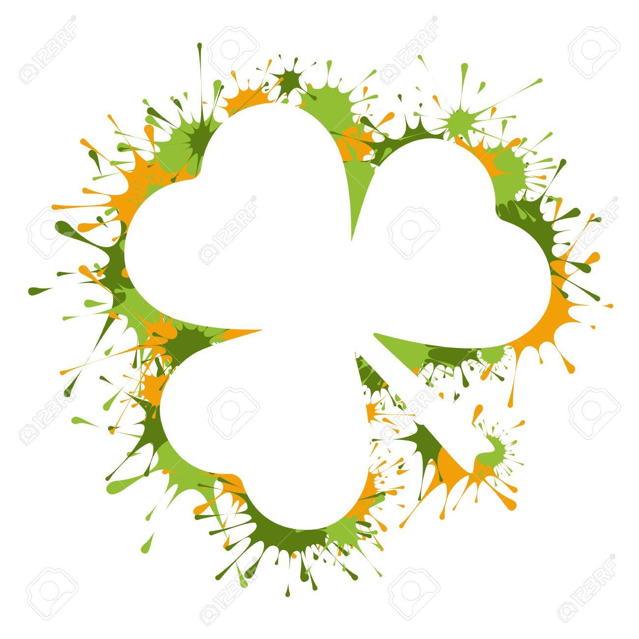 St  Patrick Day frame Stock Vector - 16956224