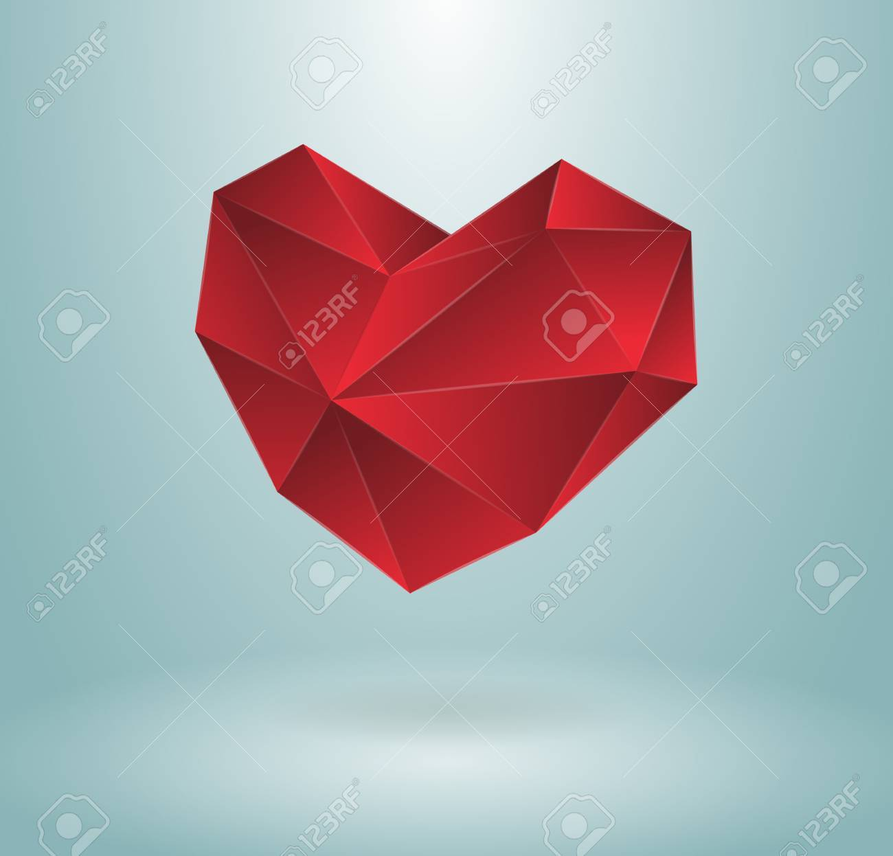 Heart concept, editable, isolated or maybe used with background Stock Vector - 16956229