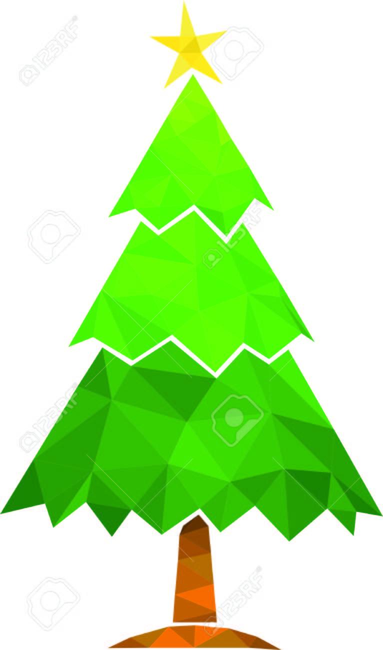 Christmas Tree Vector Free.Christmas Tree Vector Green